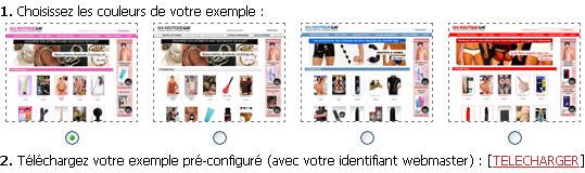 Exemples boutique